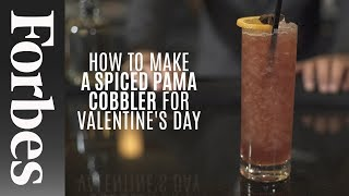 How To Make A Spiced Pama Cobbler For Valentine