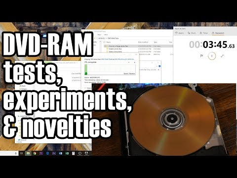 DVD-RAMifications (experiments And Other Goodies Relating To DVD-RAM)