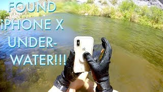 I Found an iPhone X Underwater in the River!!! (iPhone Returned to Owner - BEST REACTION EVER!) thumbnail