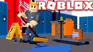 MY FIRST JOB OUT OF HIGH SCHOOL | Roblox - High School
