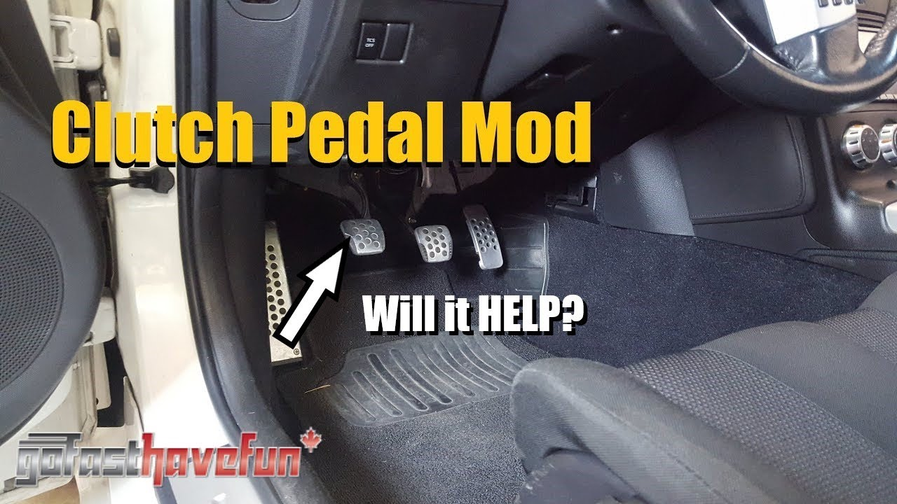 350z Clutch Pedal Mod  350z Owners I Need Your Feedback
