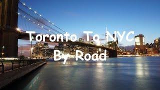 Video Toronto to New York City by Road download MP3, 3GP, MP4, WEBM, AVI, FLV Juli 2018