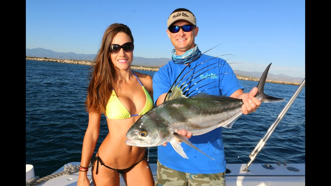 Fishing for roosterfish in mexico part 1 youtube for Fish for girls