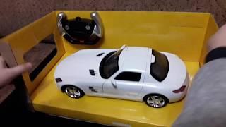 радиоуправляемая машина Rastar Mercedes-Benz SLS AMG 1:24