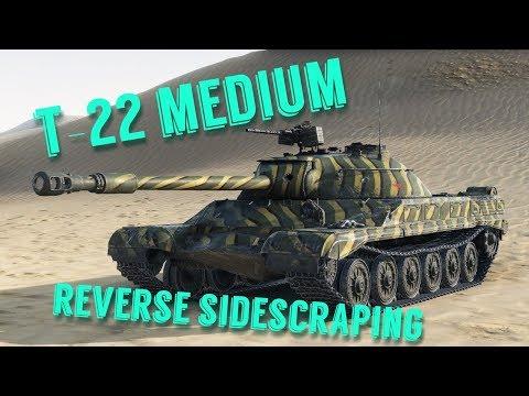 T-22 medium - Reverse Sidescraping