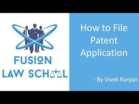 Lecture on How to File Patent Appliction