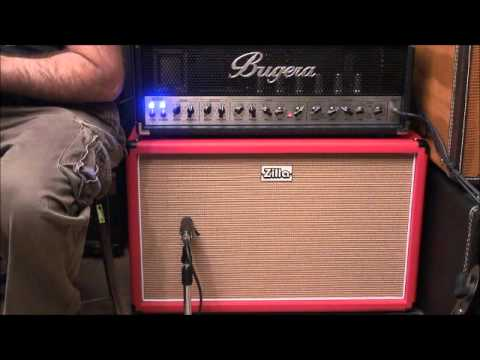 Bugera 6262 though a Zilla 2x12 Fatboy cabinet. (amp is for sale ...