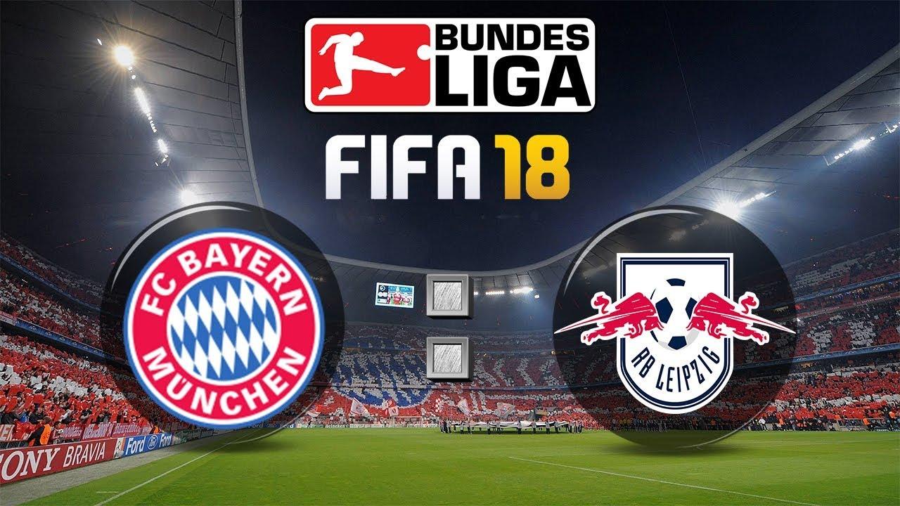 Fifa 18 Bundesliga Fc Bayern München Rb Leipzig Gameplay Deutsch