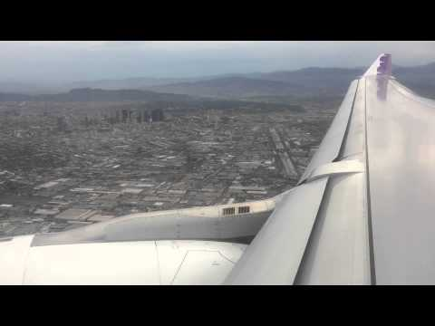 Hawaiian Airlines A330-200 landing in LAX