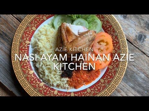 Nasi Ayam Hainan Versi Azie Kitchen