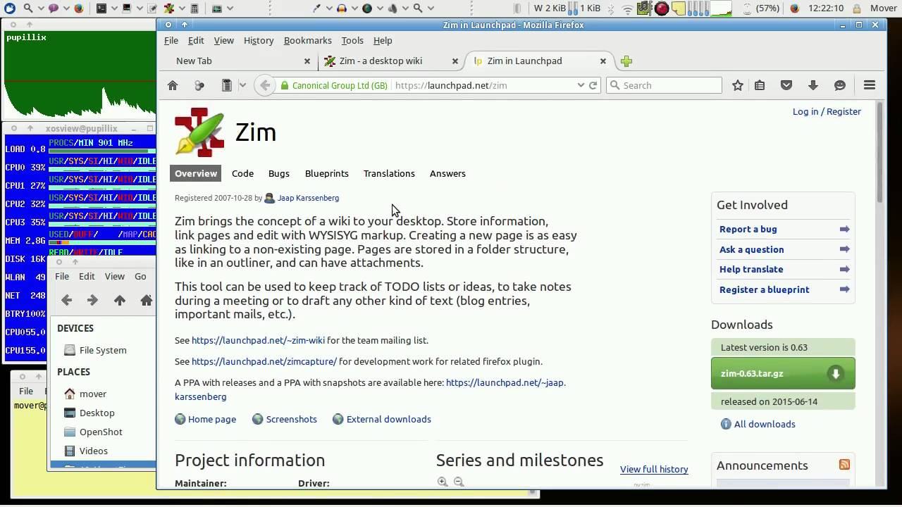 About Zim A Desktop Wiki Part 1 3 Highlights Updated 2016