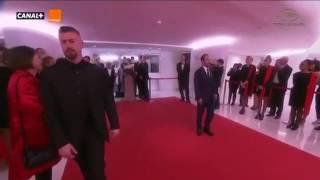 خیلی خوشگلید! ویدئویی جالب از خروج فرهادی، ترانه علیدوستی و شهاب حسینی از کاخ لومیر در کن