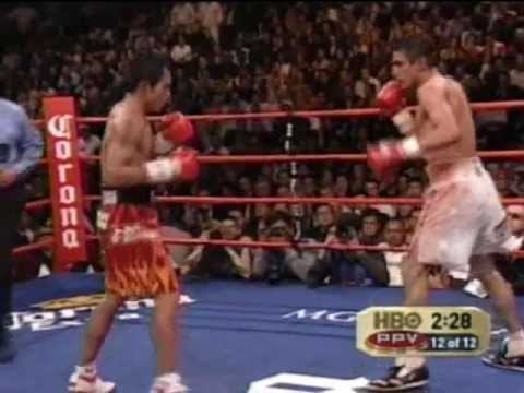 Manny Pacquiao vs Erik Morales I - Round 12
