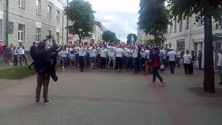 Болельщики Динамо-Брест перед финалом Кубка Беларуси | 19/05/2018