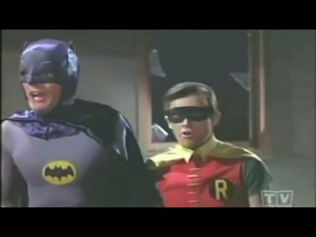 Batman - 1960's fight scene
