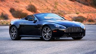 Aston Martin V8 Vantage S Roadster - Road Test with Great Sound