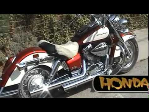 2008 honda shadow vt 750 aero youtube. Black Bedroom Furniture Sets. Home Design Ideas
