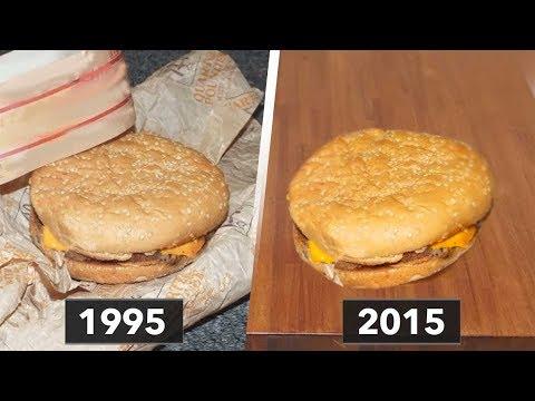 20 Yıl Boyunca Bir Hamburger Sakladı Ve Sonuç Korkutucu Oldu.