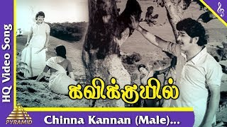 Chinna Kannan (male) Video Song  Kavikkuyil Tamil Movie Songs   Sivakumar   Sridevi   Pyramid Music