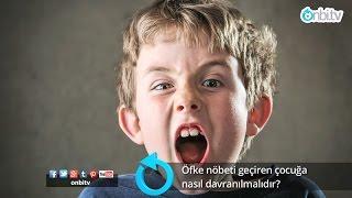 Öfke nöbeti geçiren çocuğa nasıl davranılmalıdır? #çocuklardaöfke