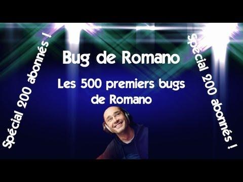 Radio Libre - Les 500 premiers bugs de Romano - Spéciale 200 abonnés