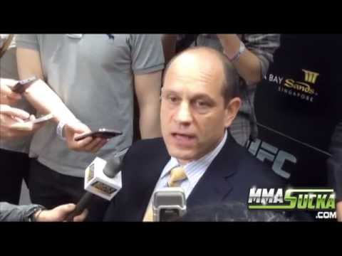 Mark Fischer UFC Fight Night 34 media day scrum