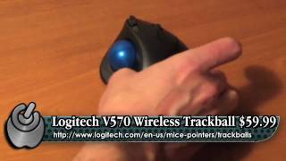 WholeApple Logitech M570 Trackball Review