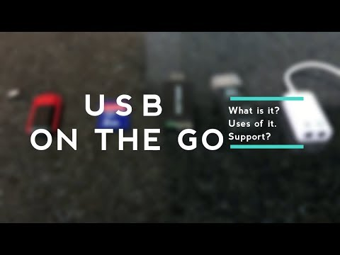 What is OTG?    Uses of OTG    USB On The Go