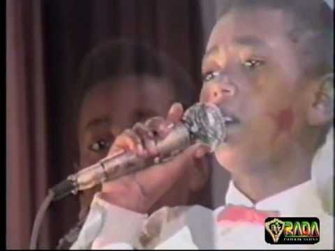 Ethiopian music: when jacky was 11 years old.mpg