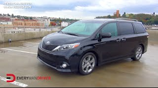 First Drive Review: 2015 Toyota Sienna on Everyman Driver, Dave Erickson