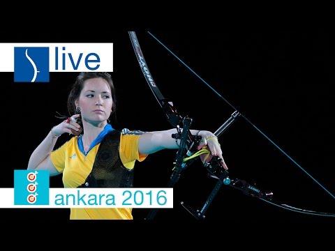 Live: Recurve Finals |Ankara 2016