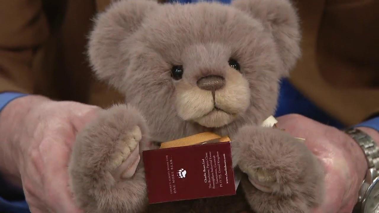 2018 Charlie Bears NEW Plush Pamper