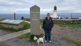 John O'Groats and Dunnet Head - Westies Tour Scotland 2017 - Day 10
