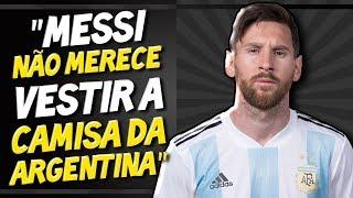 """Messi é DETONADO por Maradona - """"Não merece vestir a camisa da Argentina"""""""