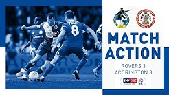 Match Action: Bristol Rovers 3-3 Accrington Stanley