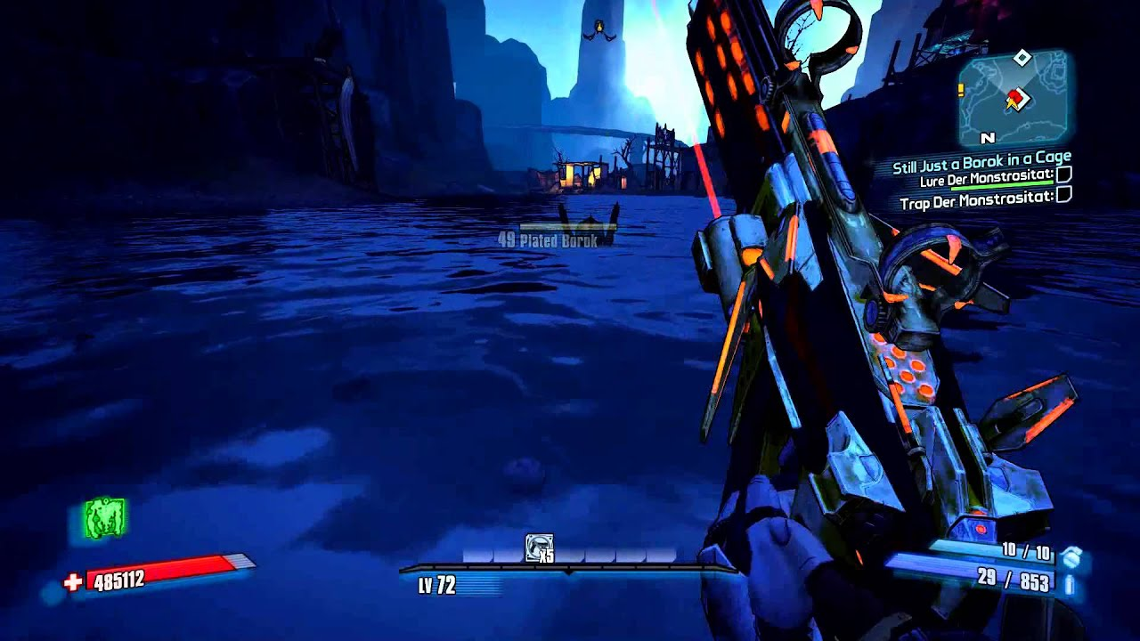 Borderlands 2 - Speed Up Still Just a Borok in a Cage (1080p)