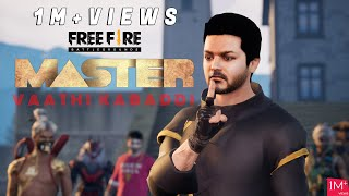 free fire | master Kabaddi scene | animation | thalapathy |show hall | Gaming Tamizhan | Kutty Gokul