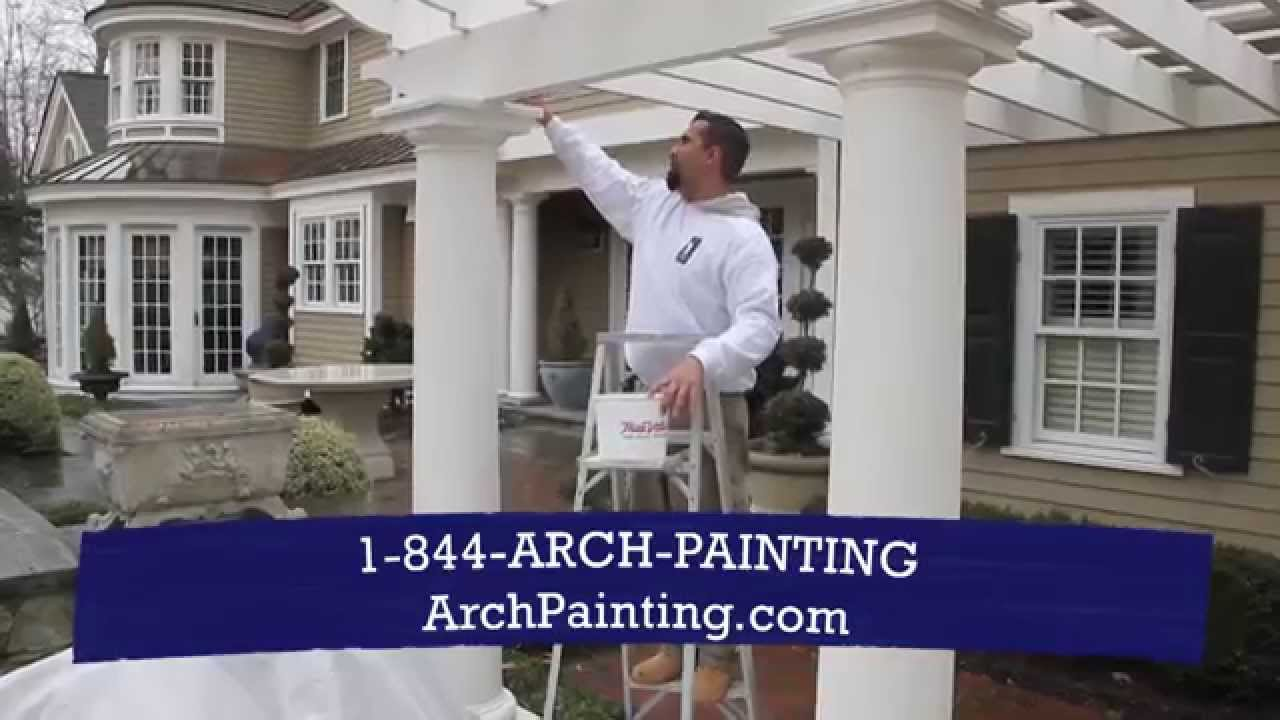 Arch Painting Professional Residential And Exterior House Painters - Exterior-house-painter