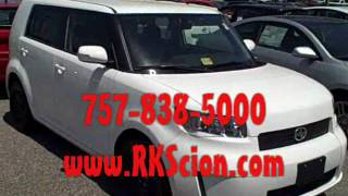 new 2010 rk scion xb hampton chesapeake williamsburg norfolk va