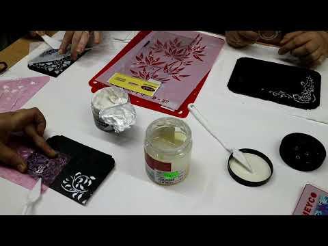 Testare pasta de relief Artix si Rich la Galeria Creativ