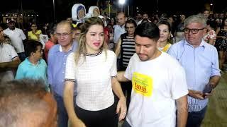 Gerrimar Barbosa - Inauguração de Brinquedopraça em Jaguaribara