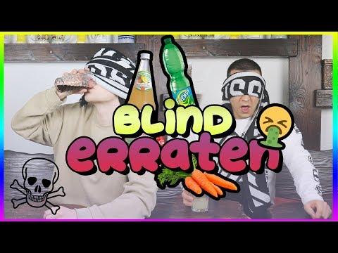 GETRÄNKE BLIND ERRATEN CHALLENGE MIT UNSYMPATHISCHTV