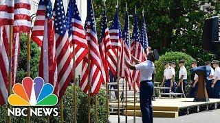 President Donald Trump Hosts A Celebration Of America | NBC News