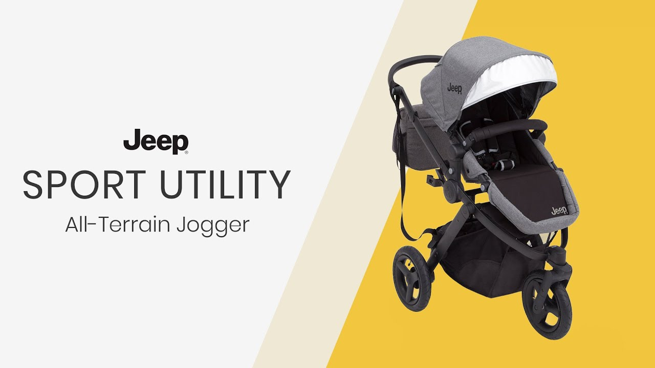 Jeep Sport Utility All Terrain Jogger By Delta Children Youtube