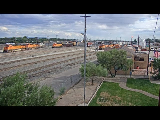 Belen, New Mexico - Virtual Railfan LIVE (DEMO)