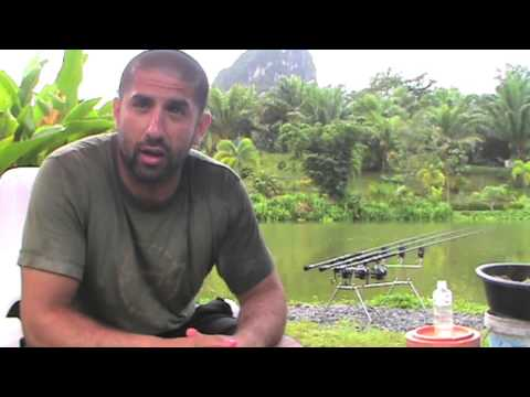 Korda's Ali Hamidi Fishing At Gillhams Fishing Resorts, Part 1.