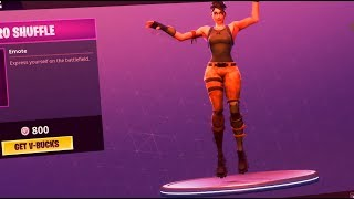 Electro SHUFFLE Fortnite Dance ( BASS BOOSTED )