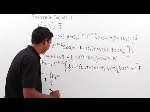 Electro Magnetics - Poynting Theorem Part 1
