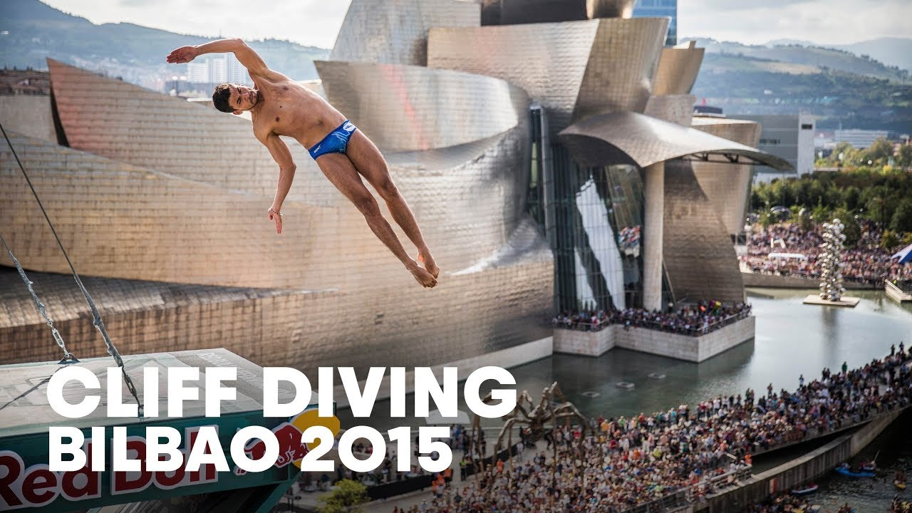 27m high dives in bilbao red bull cliff diving world series 2015 youtube - Red bull high dive ...