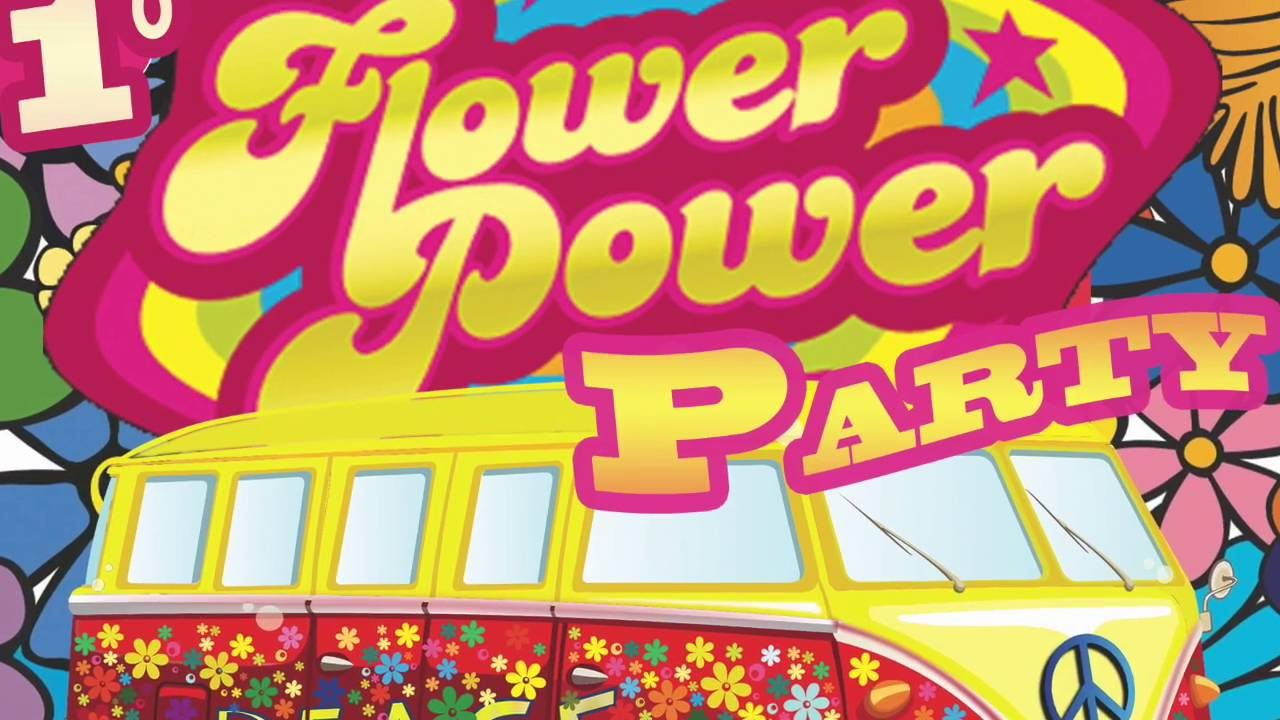 TATIANA 1° FLOWER POWER PARTY 2016